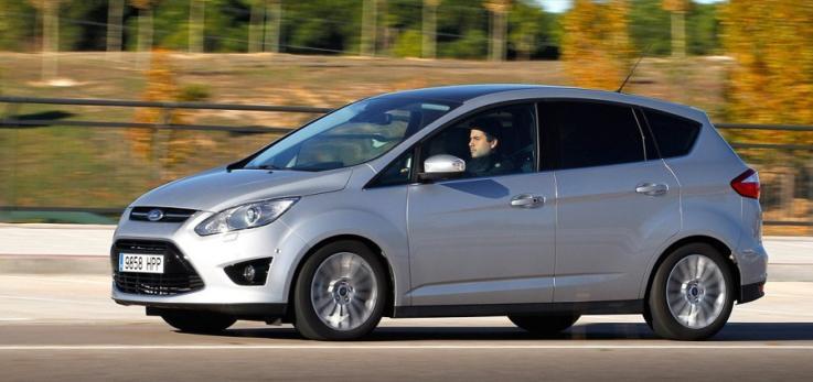 Ford C-Max, coche para familias numerosas